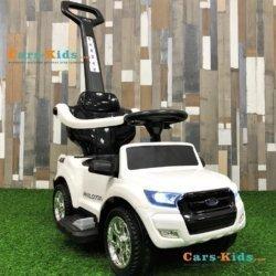 Электромобиль - каталка Ford Ranger DK-P01-P (2 в 1, свет фар, музыка, педаль газа)