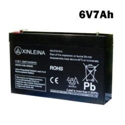 Аккумулятор 6V 7AH XINLEINA